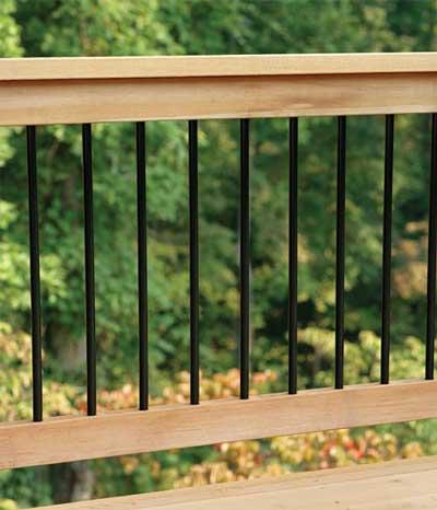 Aluminum Porch Railing Example