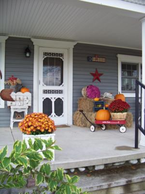 Christine's harvest porch