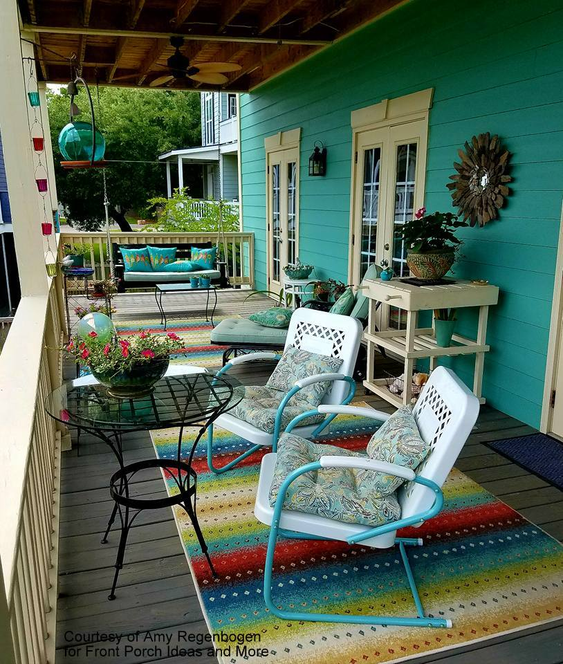 Back porch decorating ideas from our friend Amy & Back Porch Friends | Back Porch Designs | Back Porch Decorating Ideas