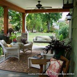 Anna's craftsman style porch