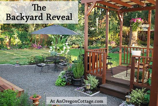 Jami's backyard