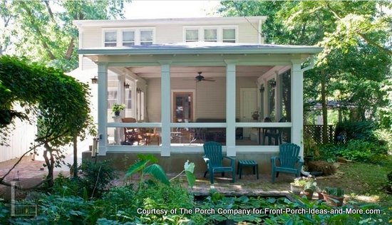 One of The Porch Company's beautiful custom screened porches