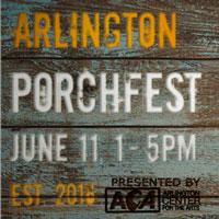 arlington  porchfest logo