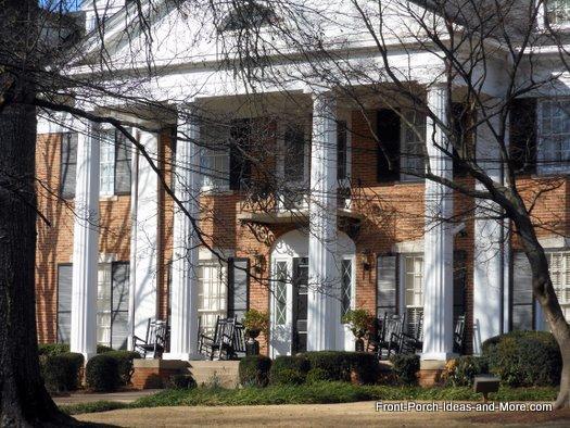 Athens GA Doric Columns