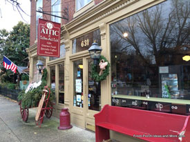 the attic coffee shop and store in madison indiana