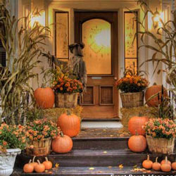 Outdoor Fall Decorating Ideas for Your Front Porch and Beyond