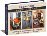 Autumn Porch Decorating Ideas eBook cover 200x156