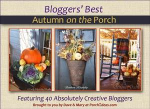 Autumn Porch Decorating Ideas eBook cover 300x218