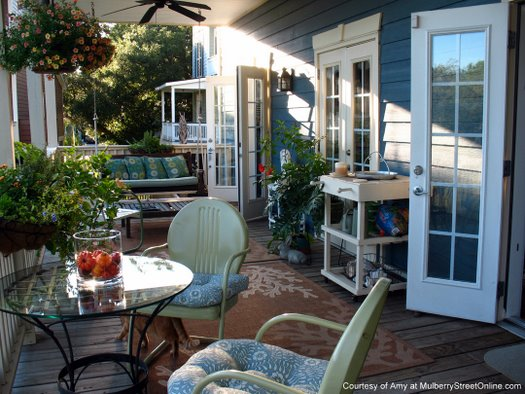 Back Porch Friends | Back Porch Designs | Back Porch Decorating Ideas