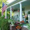 Bed and Breakfast porch