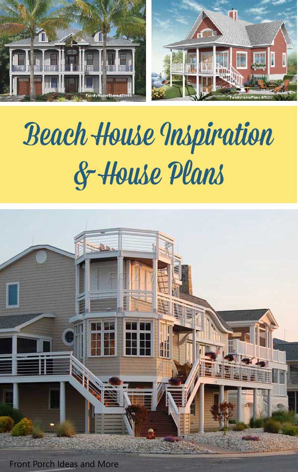 ever think of living in a beach home explore beach home plan ideas - Beach Home Plans