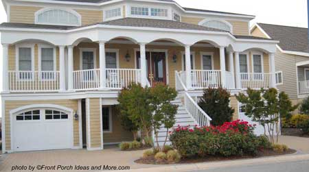 typical beach home porch - Home Porch Design