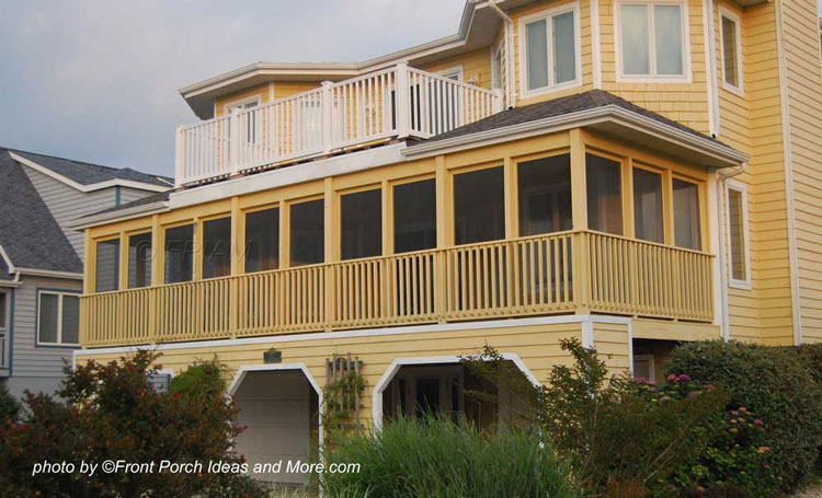Beach Houses Coastal Houses Front Porch Pictures