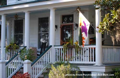 Beaufort sc front porch ideas front porch pictures for Southern front porches