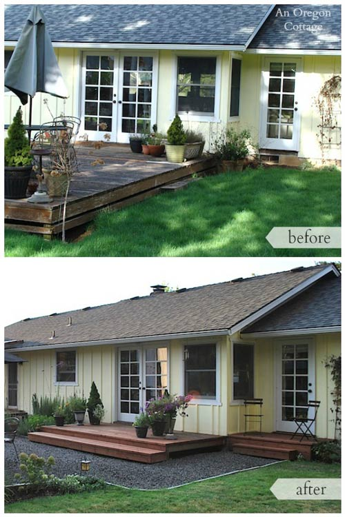 Backyard makeover from An Oregon Cottage