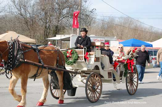 horse and carriage in Bell Buckle TN