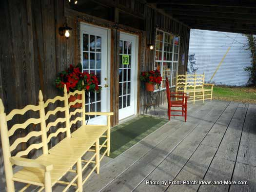 Bell Buckle TN store front porch