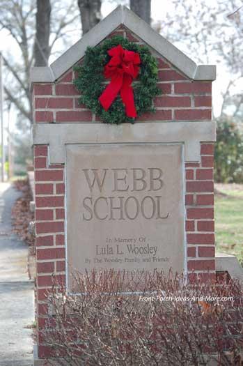 Famous Webb School in Bell Buckle TN