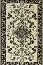 Indoor outdoor area rugs - black