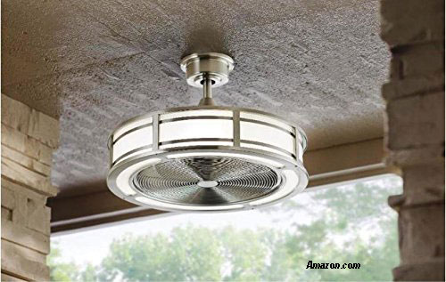 Outdoor ceiling fan porch fan contemporary ceiling fan compact fan with led lights available at amazon affiliate aloadofball Gallery