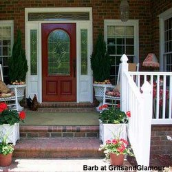 Barb's brick porch story