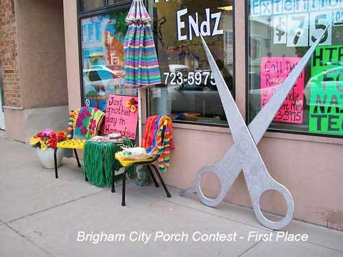Brigham City Utah Porch Contest