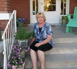 Brigham City's Founder of the 1st Annual Porch Contest