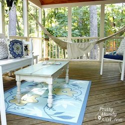Brittany's screen porch makeover