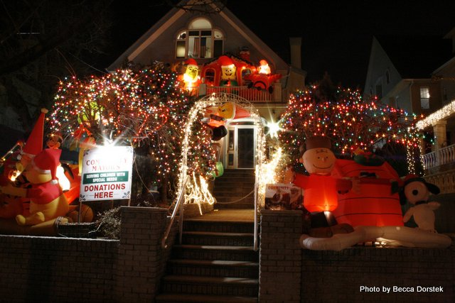 Charlie Brown Christmas light idea