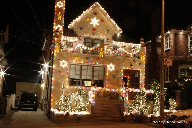 Ginger-bread christmas lights