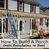 build a porch