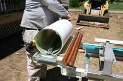 Installing aluminum wrap
