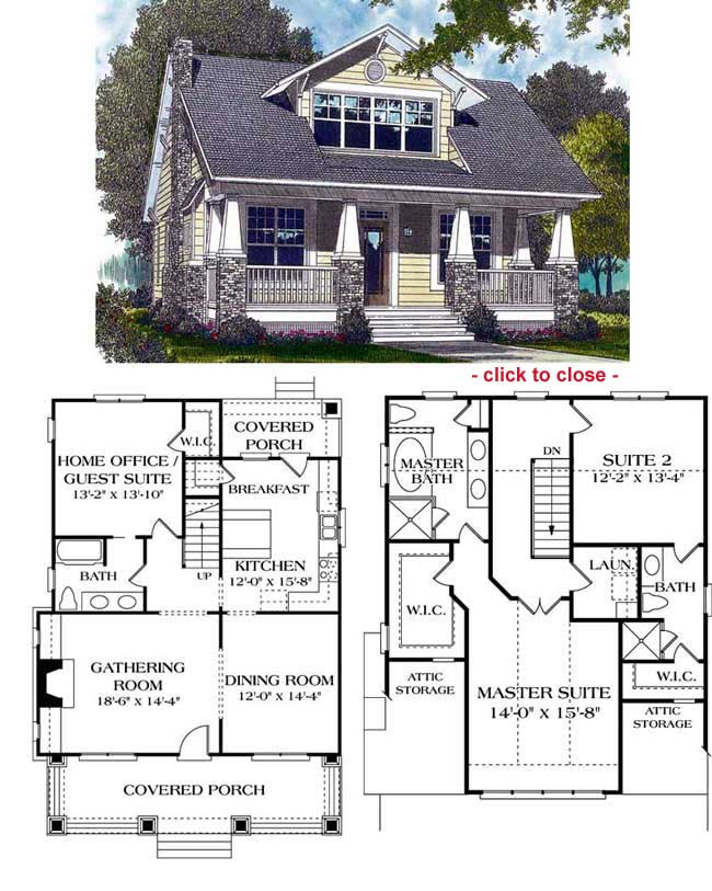 Craftsman Style House Plans Prairie