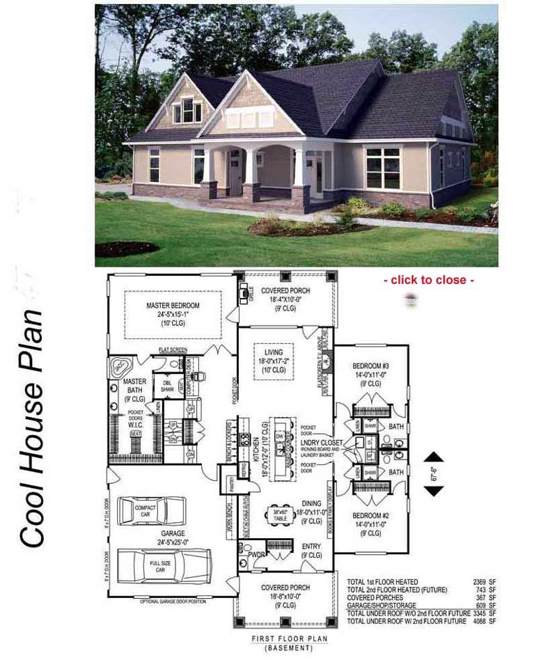 Bungalow house plans home design photo for Cottage style floor plans