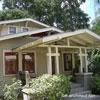 striking bungalow front porch