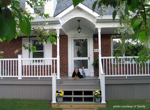 Front porch ideas front porch designs front porch pictures Front porch without roof