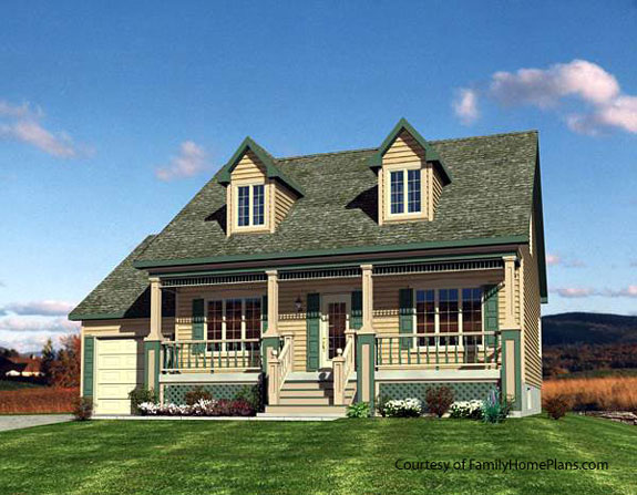 House plans online with porches house building plans for Large cape cod house plans