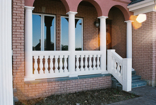 Stone Columns Design : Cast stone column porch columns front designs