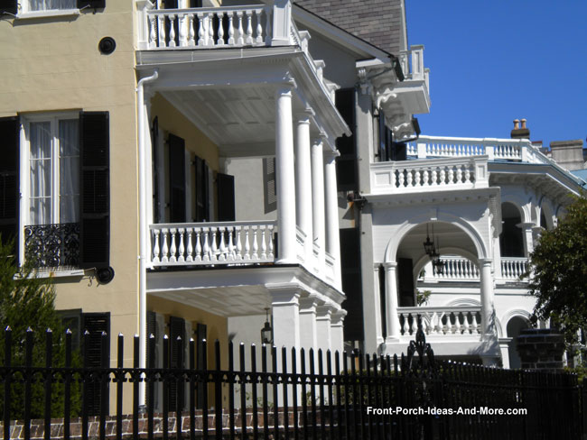 Historic Charleston Homes Porch Ideas Front Porch Pictures