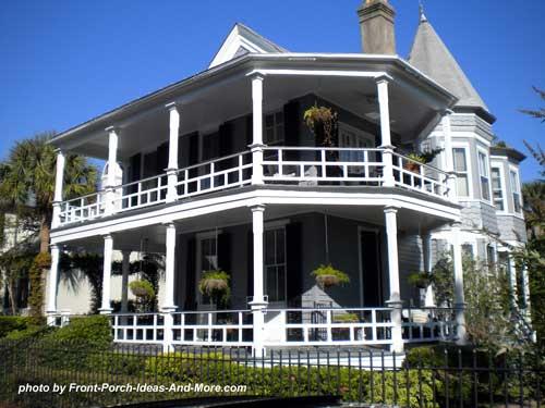 unique side porch design