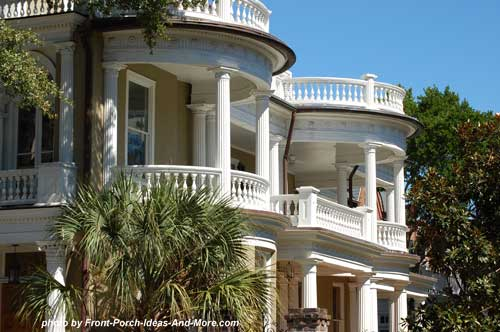 double round porches in SC