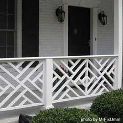Porch Railings additionally Gate And Grill Designs likewise Modern Homes Designs Concepts Front additionally Main Door Safety Grill also Wrought Iron Window Grills. on unique window grill design