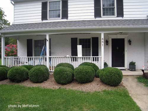standard square porch balusters