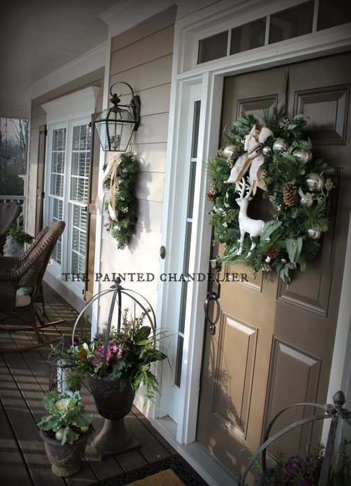 The Painted Chandelier - Melanie's inviting porch
