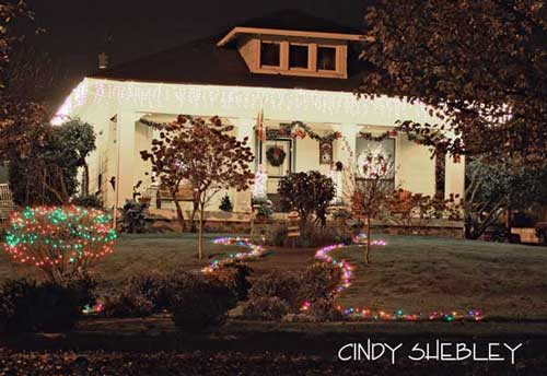 Christmas light idea example