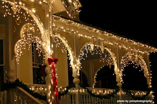 Christmas light ideas - beautiful icicle lights