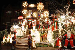 Brooklyn Christmas light ideas by Becca Dorstek