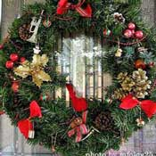 some wreath ideas for Christmas