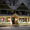 picture perfect home decorated for Christmas