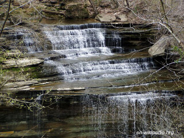 waterfalls at clifty falls state park